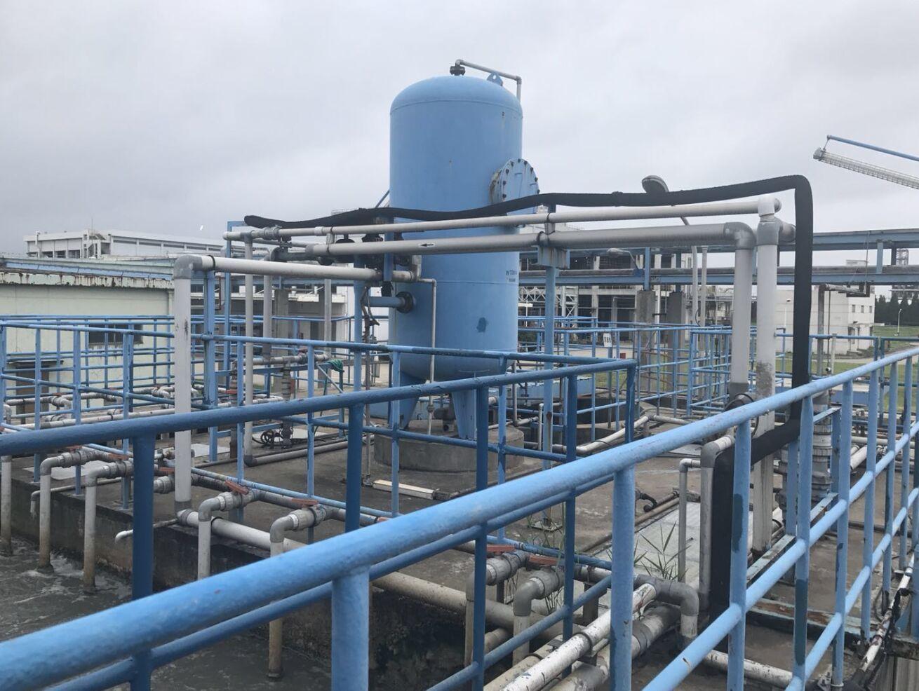 化工厂废水处理系统