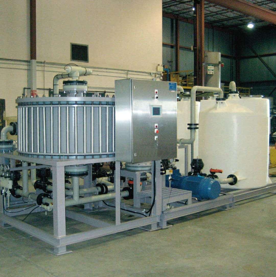 电镀厂废水处理设备