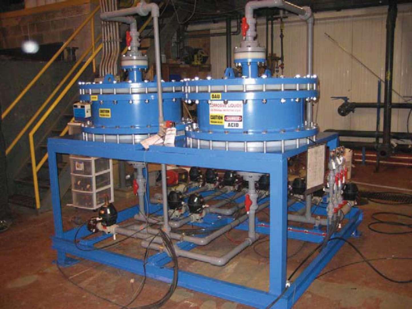 电镀厂污水处理系统