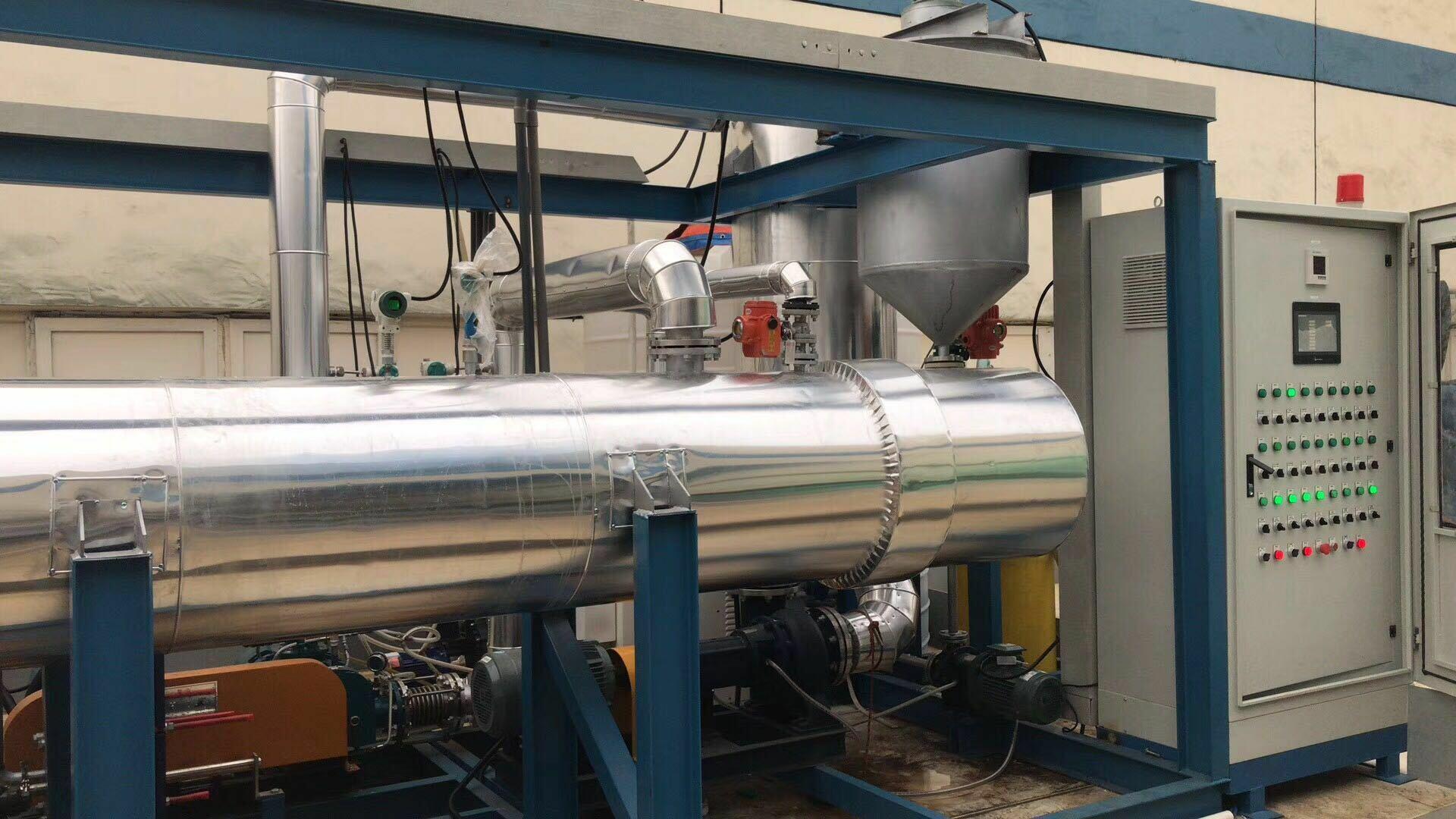 一体化MVR蒸发器运行现场