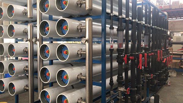 超纯水系统工艺流程及特点