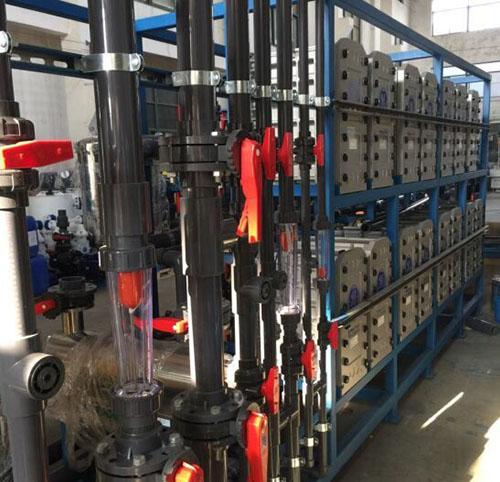 工业超纯水设备运行原理及操作流程