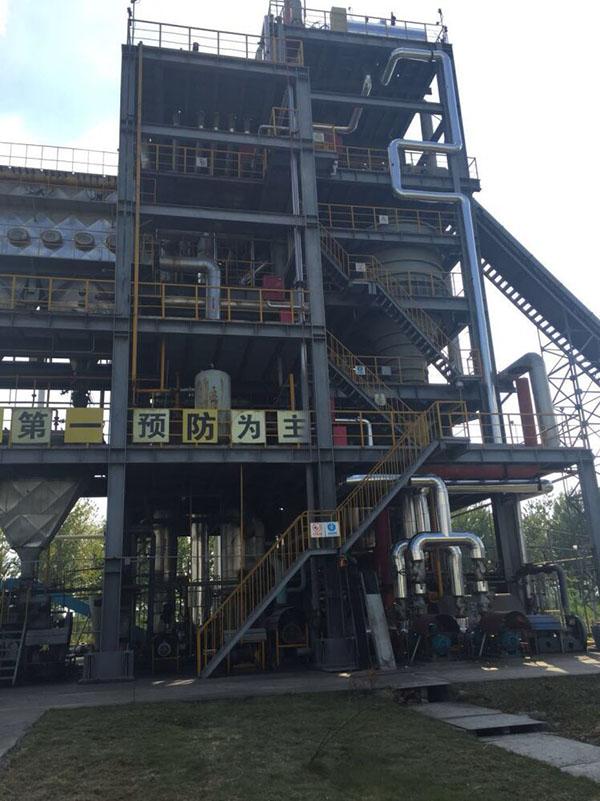 磷酸铁锂废水MVR调试现场