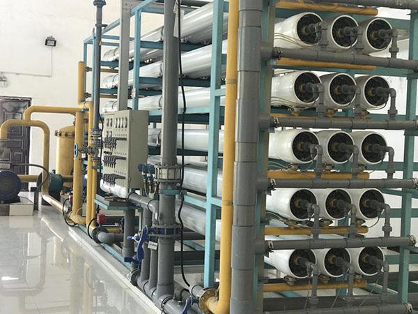 发电厂软化水处理系统