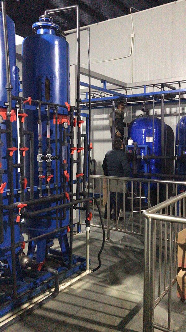 化工厂银阳离子软化水