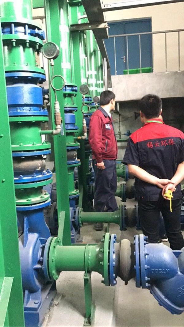 化工厂循环水处理系统检修