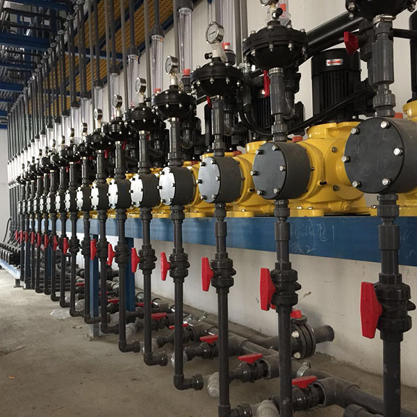 制药厂污水处理加药系统